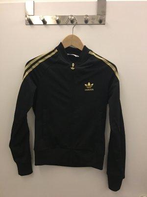 Adidas Originals Jacke schwarz gold Gr 34