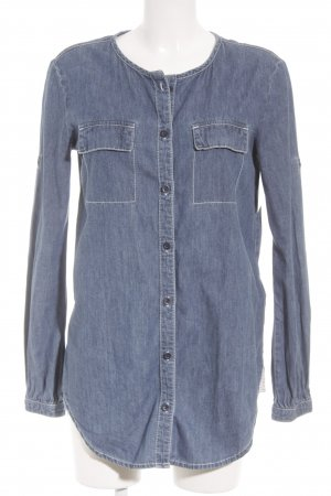 Adidas Originals Denim Blouse blue casual look