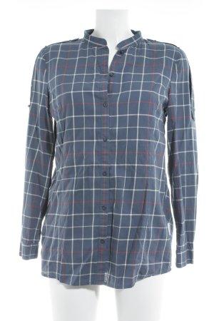 Adidas Originals Shirt met korte mouwen geruite print atletische stijl