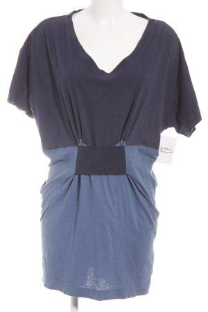 Adidas Originals Kurzarmkleid stahlblau-kornblumenblau Casual-Look