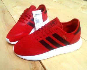 Adidas Originals Sneaker stringata rosso-rosso neon Fibra tessile