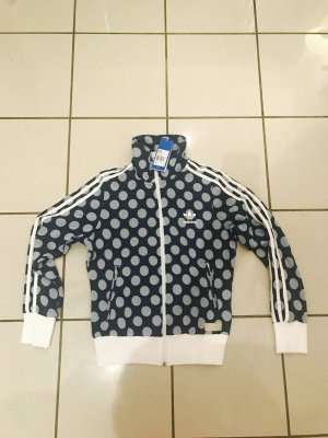 Adidas Originals NMD Jacke,Gr 36 (38), neu,blau/weiß,Punkte