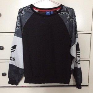 Adidas Originals Pullover Gr. XS schwarz weiß