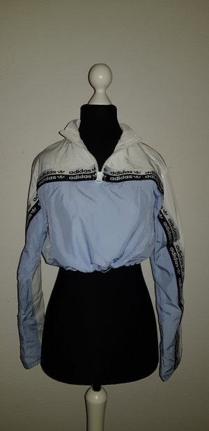Adidas Originals Sweatshirt wit-azuur