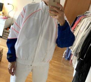 Adidas Originals Bomberjack wit-blauw
