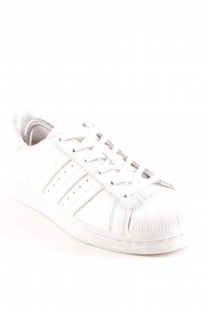 Adidas Originals Lace-Up Sneaker white athletic style