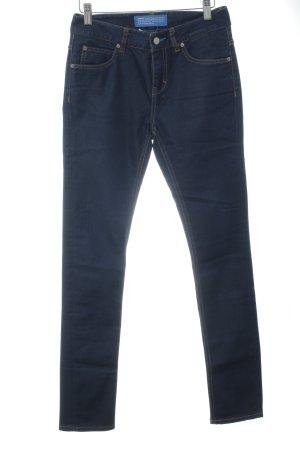 Adidas Originals Skinny Jeans dunkelblau Casual-Look