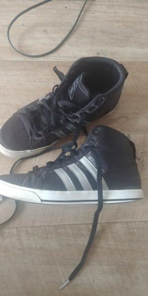 Adidas NEO High Top Sneaker black-silver-colored