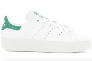 ADIDAS Originals Sneakers Stan Smith Bold Leder Turnschuhe 39,5 NEU Weiß Grün