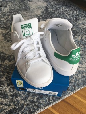 Adidas Originals Stan Smith weiß grün Größe 36 2/3 UK4 US 4,5