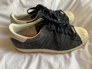 Adidas Originals Skater Shoes dark blue-white