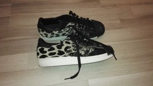 adidas Originals Superstar 80's Ombre Animal Print Trainers