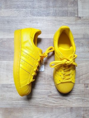 adidas Originals Superstar Adicolor Translucent Gelb Yellow Gr. 38