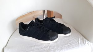Adidas Originals Lace-Up Sneaker black-white leather