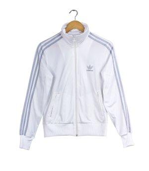 Adidas Originals Sweat Jacket white-silver-colored