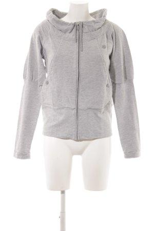 Adidas Originals Sweatjacke hellgrau Casual-Look