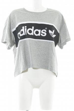 Adidas Originals T-Shirt Schriftzug gedruckt 90ies-Stil