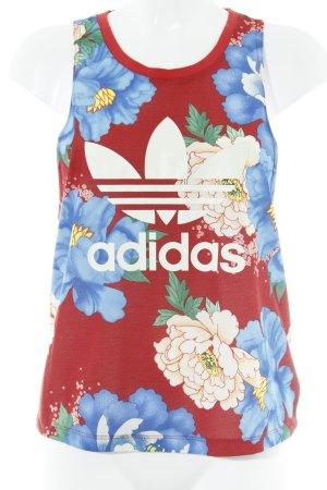 Adidas Originals Tanktop florales Muster Casual-Look