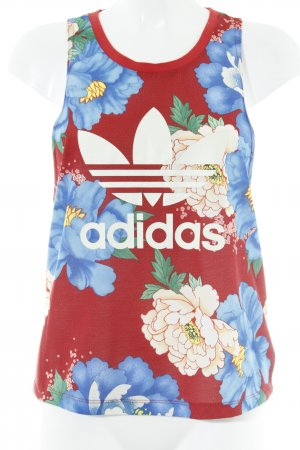 Adidas Originals Canotta motivo floreale stile casual