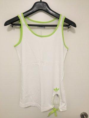 Adidas Originals Canotta sportiva bianco-verde prato