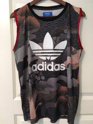 Adidas Originals Print Shirt black-anthracite