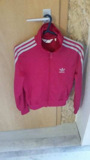 Adidas Sports Jacket neon red