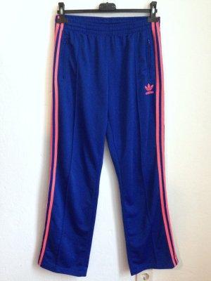 Adidas Originals Trainingshose in Blau/ Pink, Gr. 40