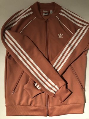 Adidas Originals Sports Jacket white-salmon