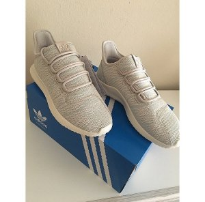 Adidas Originals Sneakers met veters turkoois-licht beige