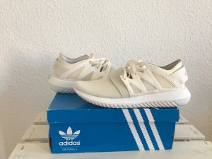 Adidas Originals Lace-Up Sneaker cream