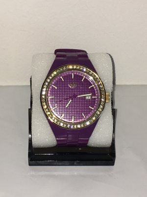 Adidas Originals Uhr lila gold