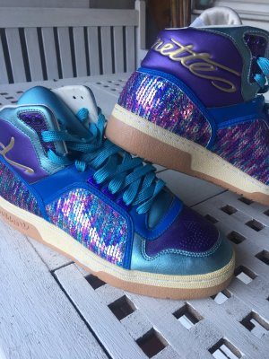 Adidas Originals Lace-Up Sneaker blue-blue violet