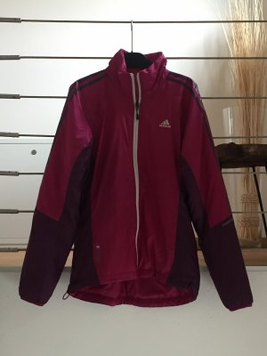 Adidas Outdoor Jacket blackberry-red-raspberry-red polyester