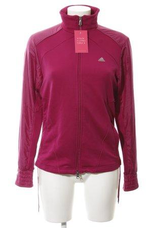 Adidas Chaqueta para exteriores lila estilo deportivo