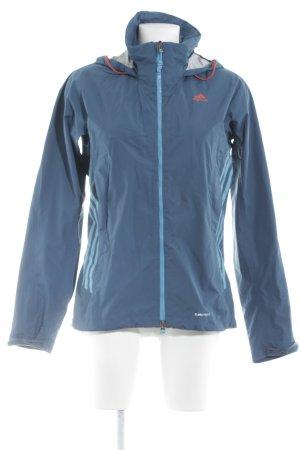 Adidas Chaqueta para exteriores petróleo-azul aciano look casual