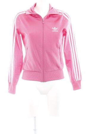 Adidas Outdoor jack roze atletische stijl