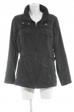 Adidas Outdoorjacke schwarz-grau Casual-Look