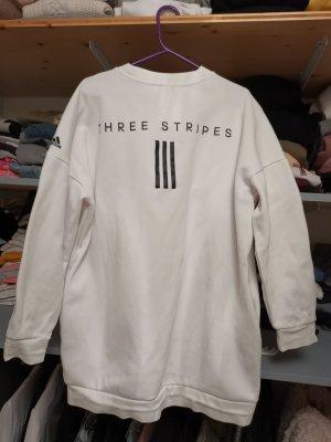 Adidas Originals Pull oversize blanc-noir