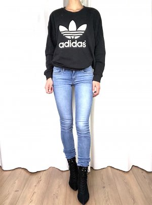 Adidas Jersey holgados negro-blanco