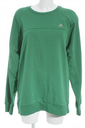 Adidas Oversized Sweater green athletic style