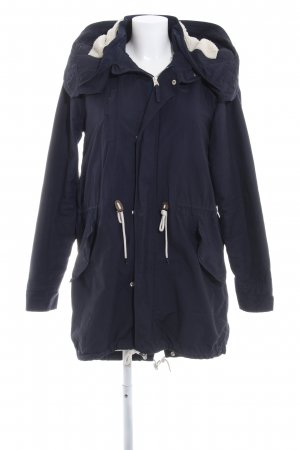 Adidas Parka dark blue casual look