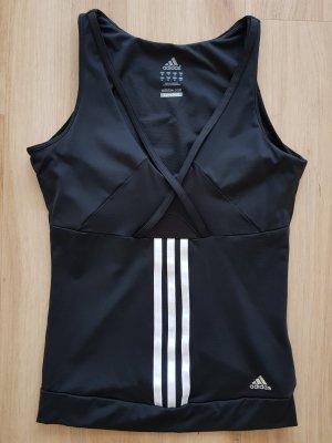 Adidas Performance Climacool Top mit eingenähtem Sport-BH schwarz Gr. 36 *** NEU ***