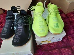 Adidas Zapatilla brogue amarillo neón