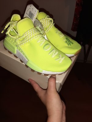 adidas pharrell williams in solar yellow 36.5 36 2/3 human race