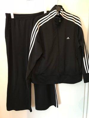 Adidas Plus Size Retro-Anzug Gr.52 Neuwertig Jacke und Hose