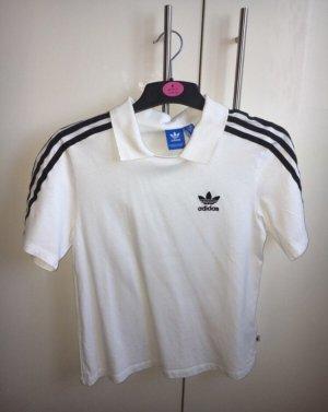 Adidas Polo Shirt white-black