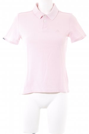 Adidas Polo-Shirt hellrosa Casual-Look