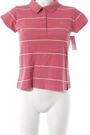 Adidas Polo-Shirt Streifenmuster sportlicher Stil