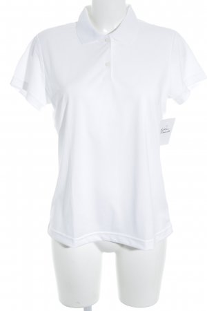 Adidas Polo Shirt white casual look