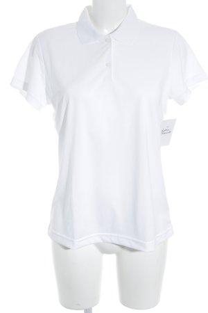 Adidas Polo-Shirt weiß Casual-Look